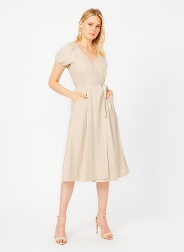 Random Elbise Bej